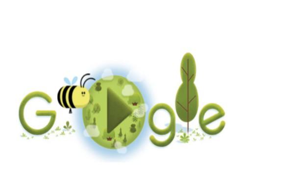 Google: Αφιερωμένο στην Ημέρα της Γης το σημερινό doodle