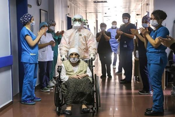 Έγινε το θαύμα: Ακόμη μία ασθενής 107 ετών νίκησε τον κορωνοϊό!