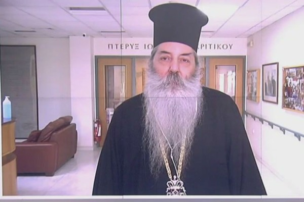 «Ξεπεζέψτε, δεν έχει απαγορευθεί η Θεία Κοινωνία - Δεν έκανε αδίκημα ο ιερέας» - Ξέσπασμα του Μητροπολίτη Σεραφείμ (Video)