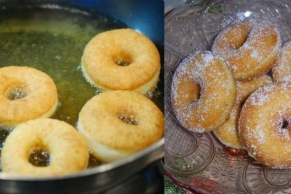 Λαχταριστοί λουκουμάδες με ζάχαρη - Το καλύτερο γλυκό