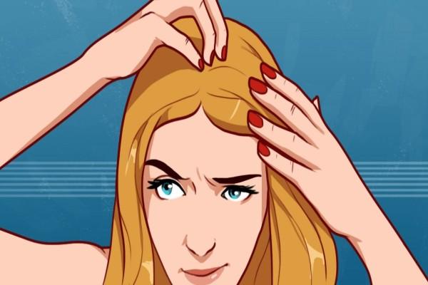 Κάνει μασάζ στο κεφάλι με μείγμα από κανέλα, ελαιόλαδο και μέλι - Θα δείτε τα μαλλιά σας να...