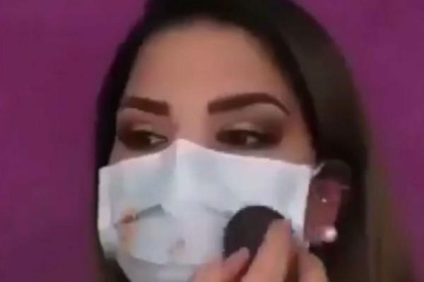 Μακαγιάζ και μάσκα - Πως να βαφτείτε για να «κλέψετε» τις εντυπώσεις (Video)
