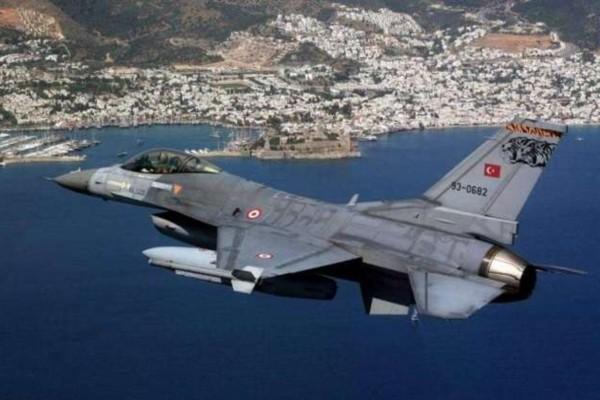 Ακραία τουρκική προκλητικότητα: «Μπαράζ» από υπερπτήσεις στο Αιγαίο μέσα σε 17 λεπτά!