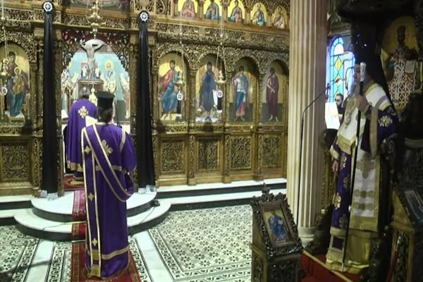 Μεγάλη Πέμπτη: Εκκλησία Live - Η Ακολουθία του Εσπερινού και Θεία Λειτουργία