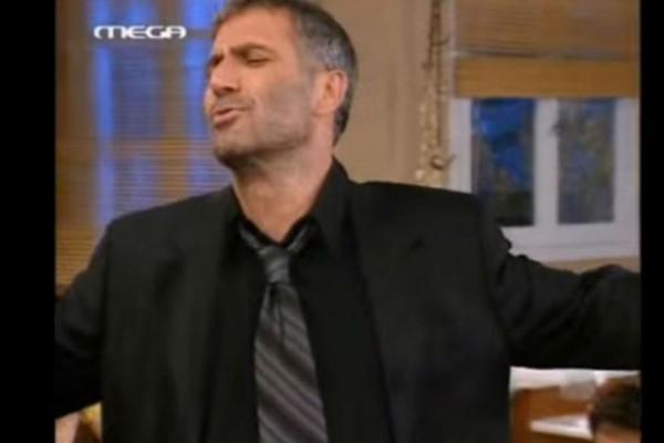 Όταν ο Νίκος Σεργιανόπουλος χόρεψε ζεϊμπέκικο κι έκανε το τηλεοπτικό κοινό να παραληρεί