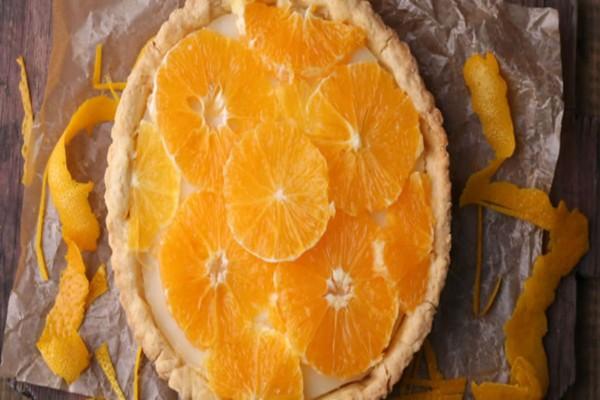 Θεϊκή τάρτα με ζαχαρούχο γάλα και πορτοκάλι