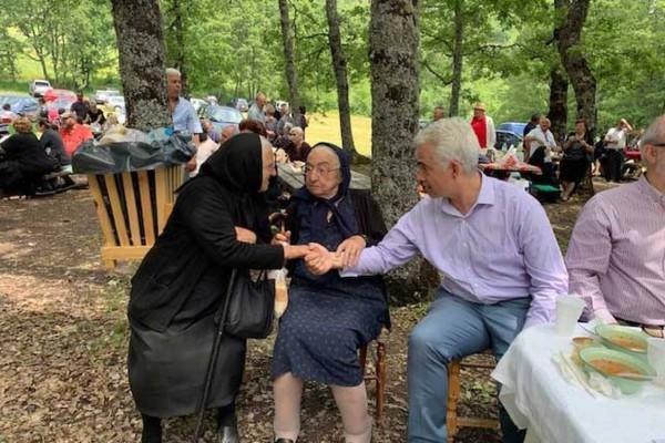 Θλίψη στην Καλαμπάκα: Πέθανε η κυρά της Παναγιάς