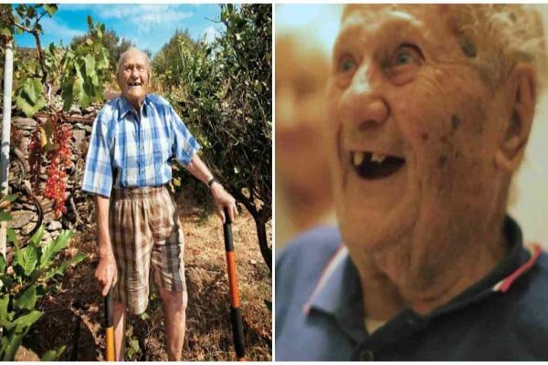 Οι γιατροί έδιναν σε αυτόν το παππού με καρκίνο 9 μήνες ζωής - Εκείνος άλλαξε αυτό το πράγμα στη ζωή του και έζησε έως τα 102