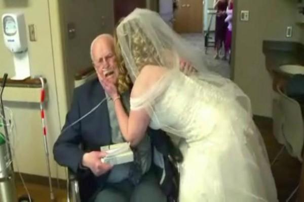 Πριν πεθάνει αυτός ο παππούς ήθελε να κάνει μια τελευταία έκπληξη στην κόρη του - Θα δακρύσετε