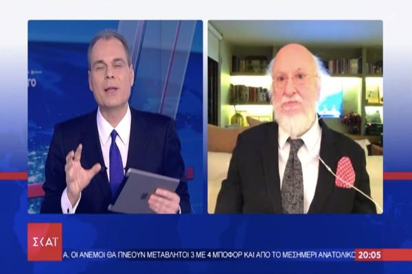 Συγκίνηση: Ο Διονύσης Σαββόπουλος τραγούδησε live εναντίον του κορωνοϊού και «σπάει» καρδιές