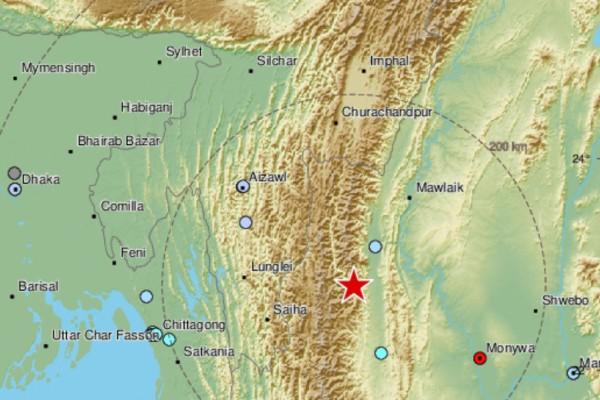Ισχυρός σεισμός 5,9 Ρίχτερ - Νέο χτύπημα του Εγκέλαδου (photo)