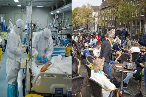«Στη Σουηδία έχουν νεκρούς έξω από τα νοσοκομεία, έχει χαθεί η μπάλα και δεν τους καίγεται καρφί»