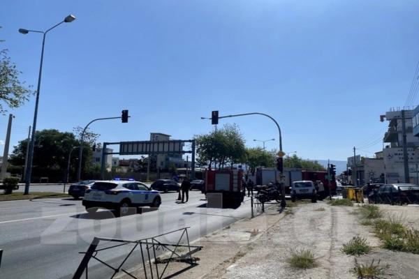Τροχαίο στη Λεωφόρο Αθηνών - Αυξημένη η κίνηση στους δρόμους