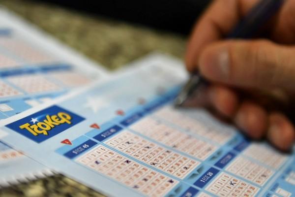 Κλήρωση Τζόκερ: Αυτοί είναι οι τυχεροί αριθμοί για τα 3.050.000 ευρώ