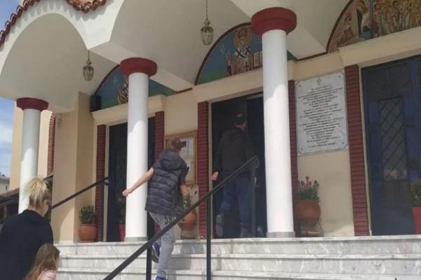 Απαγόρευση κυκλοφορίας: Δύο εκκλησίες στον Βόλο άνοιξαν αδιαφορώντας για τα μέτρα