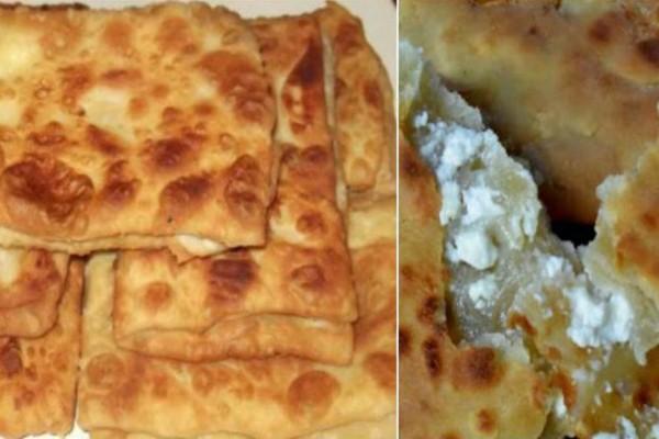 Τυροπιτάρι ή γκιουζλεμέδες - Η τηγανητή τυρόπιτα της Εύβοιας