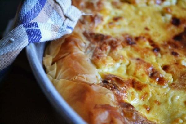 Τυρόπιτα ή αλλιώς πατσαβουρόπιτα: Η συνταγή που θα σας ξετρελάνει