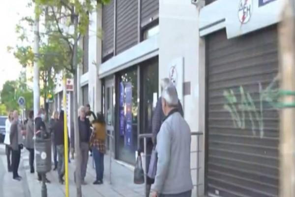 Χαμός με νέες ουρές στη ΔΕΗ σε Αθήνα και Θεσσαλονίκη (videos)