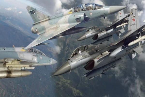 Νέος συναγερμός: Αερομαχία ελληνικών και τουρκικών μαχητικών στο Αιγαίο