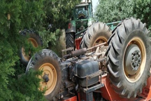 Φθιώτιδα: Τραγικό δυστύχημα με τρακτέρ - Δύο νεκροί