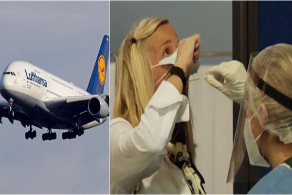 Πραγματοποιήθηκε η πρώτη πτήση της Lufthansa στην Αθήνα - Φρούριο το Ελευθέριος Βενιζέλος