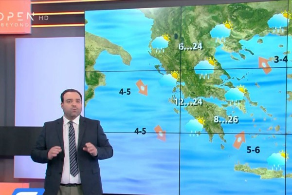 «Αστάθεια στις καιρικές συνθήκες» - Προειδοποίηση από τον Κλέαρχο Μαρουσάκη (Video)