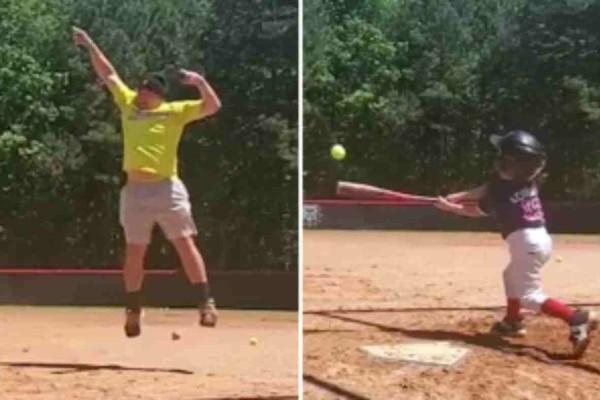 Ο γιος του κατάφερε να νικήσει στο  μπέιζμπολ  - Η αντίδραση όμως του πατέρα έγινε viral