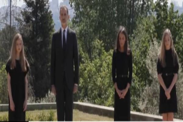 Βαρύ πένθος - Στα μαύρα και η Βασιλική οικογένεια