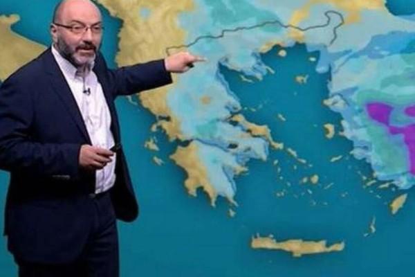 «Βροχές και καταιγίδες σήμερα, ζέστη από τις...» - Αναλυτική πρόγνωση του Σάκη Αρναούτογλου (Video)