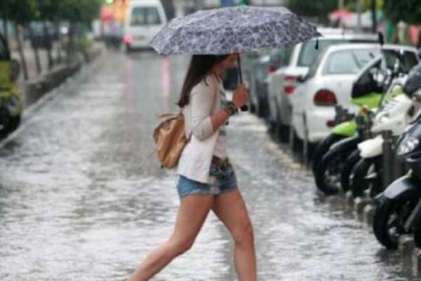 Έκτακτο δελτίο επιδείνωσης καιρού: Καταιγίδες, χαλάζι και πτώση της θερμοκρασίας