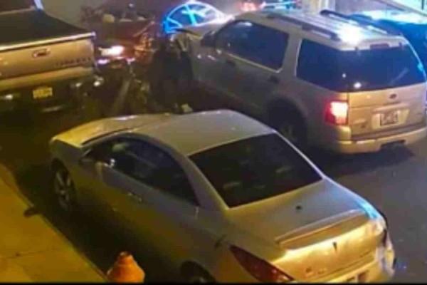 Κάμερα καταγράφει καρέ - καρέ ύποπτο άντρα να πυροβολεί πεζούς μετά την εμπλοκή του σε τροχαίο ατύχημα