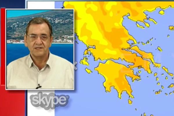 «Προσοχή: Τεράστια μεταβολή του καιρού και η θερμοκρασία στους...» - Ο Θοδωρής Κολυδάς προειδοποιεί