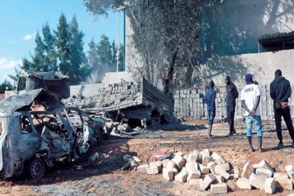 Σκηνικό πολέμου: Έριξαν τουρκικό αεροσκάφος στη Λιβύη