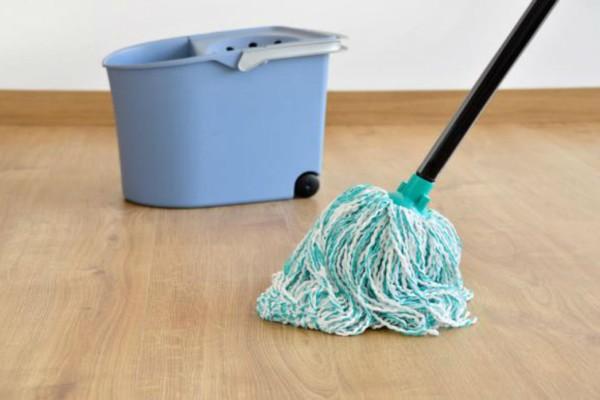 Μούλιασε τη σφουγγαρίστρα μέσα σε ένα κουβά με ξύδι κι έλυσε το πρόβλημα της κάθε νοικοκυράς