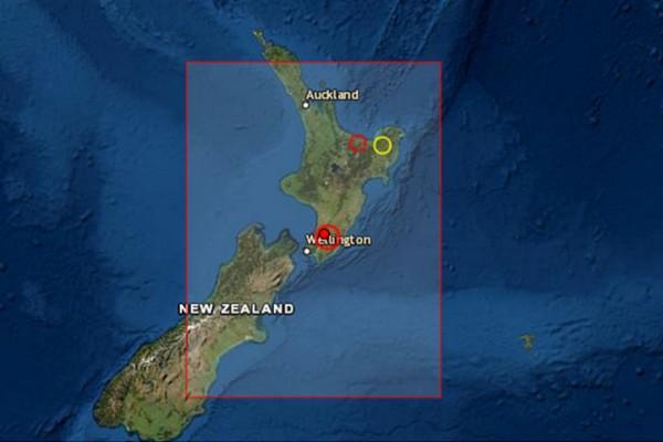 Ισχυρός σεισμός 5,7 Ρίχτερ στην Νέα Ζηλανδία (photo)