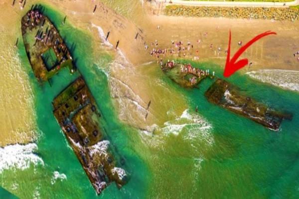 Πλοίο - καζίνο που είχε ναυαγήσει πριν 83 χρόνια ξεβράστηκε στην  παραλία - Δεν πίστευαν όμως ότι...