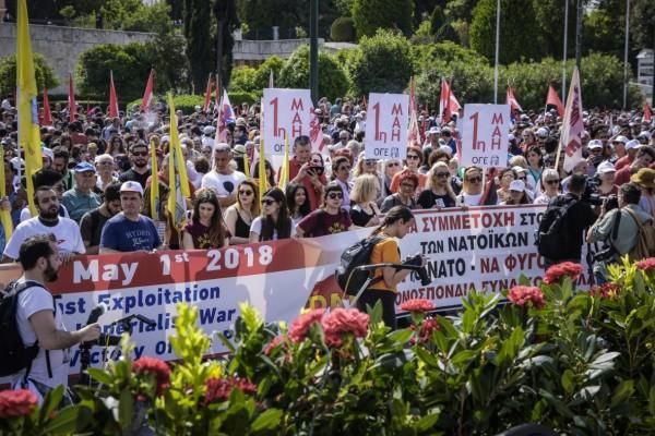 Κορωνοϊός: Απεργίες και διαδηλώσεις στη… διαφορετική Πρωτομαγιά - Έτσι θα τα χειριστεί η Αστυνομία