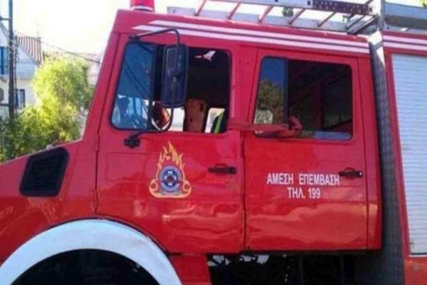 Πύργος: Ηλικιωμένος άντρας έχασε τις αισθήσεις του μετά από πυρκαγιά στο σπίτι του