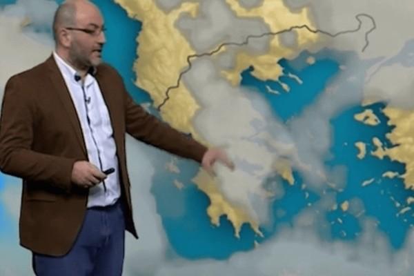 «Κοκτέιλ αφρικανικής σκόνης με βροχές και ισχυρούς ανέμους» - Ο Σάκης Αρναούτογλου προειδοποιεί για τον καιρό