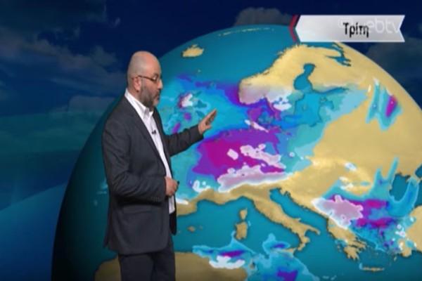 «Θολούρα στην ατμόσφαιρα και συννεφόκαμα στην χώρα με τη θερμοκρασία στους...» -  Ο Σάκης Αρναούτογλου προειδοποιεί για ακραίες συνθήκες