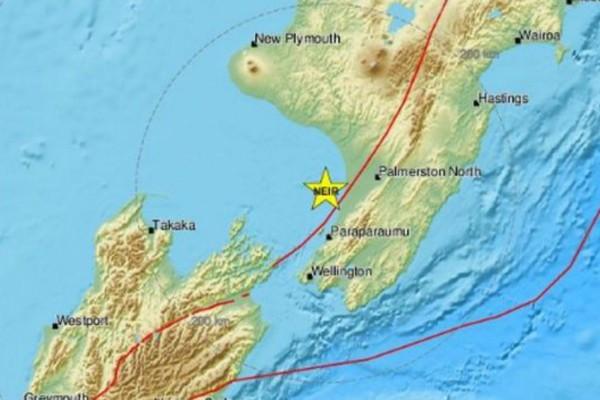 Ισχυρός σεισμός 5,2 Ρίχτερ στη Νέα Ζηλανδία