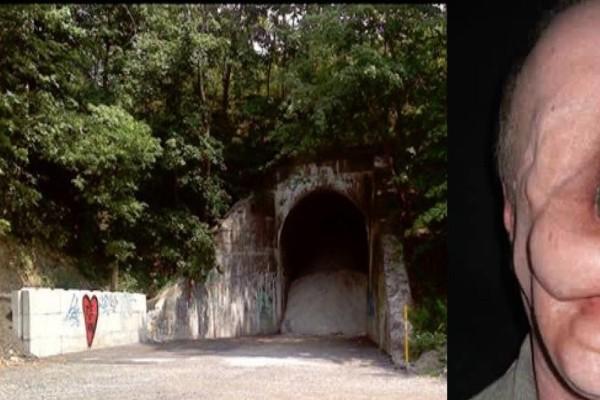 Περπατούσαν με κάμερα σε ένα τούνελ όταν συνάντησαν έναν περίεργο άνδρα - Το πρόσωπό του θα σας τρομοκρατήσει