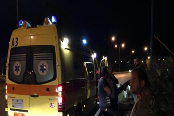 Νέο τροχαίο στην Αττική - Διακοπή κυκλοφορίας στην Εθνική οδό