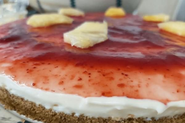 Εύκολο cheesecake με ζαχαρούχο γάλα και κρέμα τυριού - Το μυστικό για να σφίξει η κρέμα