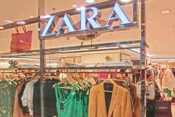 ZARA: Πανικός με αυτό το φόρεμα - Θα πάθετε σοκ με την λεπτομέρεια στους ώμους