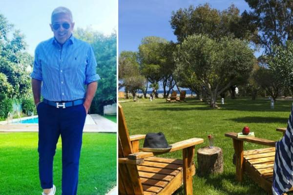 Ρόδος: Ο Τάσος Δούσης προτείνει ένα ονειρικό ξενοδοχείο στο νησί