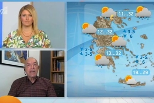 Τάσος Αρνιακός: «Αύριο περιμένουμε...» - Προειδοποίηση από τον μετεωρολόγο (Video)