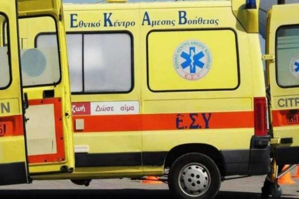 Τροχαίο στην Κόρινθο: 44χρονος έπεσε με τη μηχανή του σε ρέμα