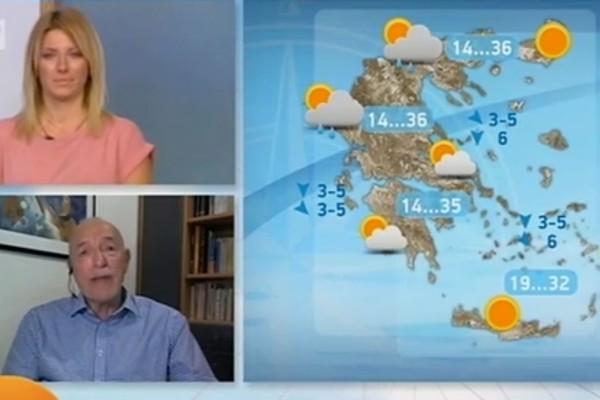Προειδοποίηση από τον Τάσο Αρνιακό: «Για ένα διήμερο θα υπάρξει μια έξαρση...» (Video)