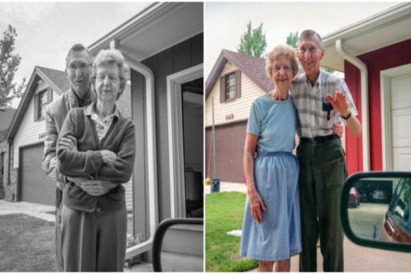 Έβγαζε φωτογραφία τους γονείς της να την αποχαιρετούν για 30 χρόνια - Η τελευταία ανατριχιάζει